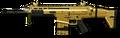 FN SCAR-H Gold Render