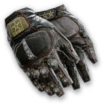Combat Gloves Render