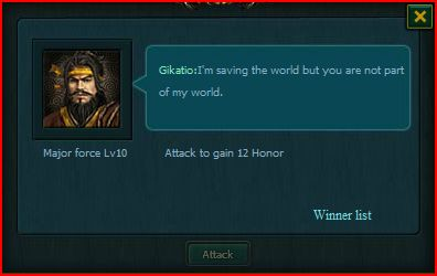 Gikatio encounter