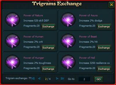 Purple trigrams