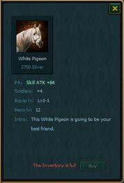 WHITE PIG