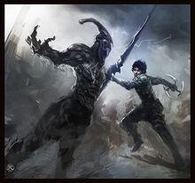 Dark Sector Fan Art by Guesscui
