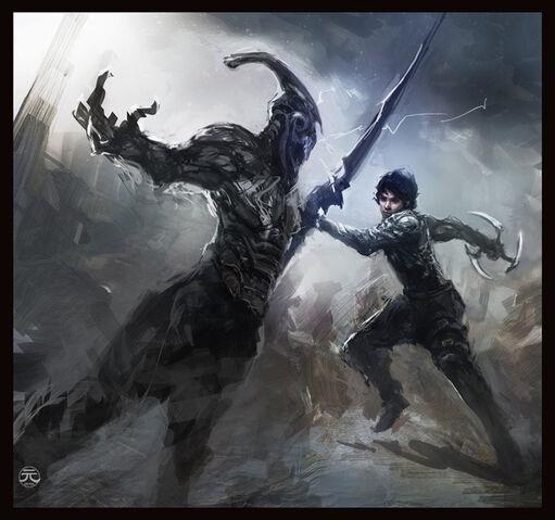 File:Dark Sector Fan Art by Guesscui.jpg
