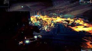 Warframe Ember's Fire Blast