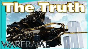 BURSTON PRIME - Gilded Truth augment 4 forma - Warframe