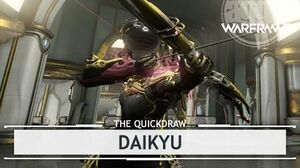 Warframe Daikyu, Girth Counts thequickdraw
