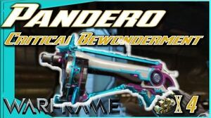 PANDERO BUILD - It's SUPER Effective!!! 5 forma - Warframe