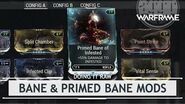 Warframe Playtesting Bane & Primed Bane Mods doingitraw