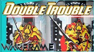 DARK SPLIT SWORD - Double the trouble 2 forma - Warframe