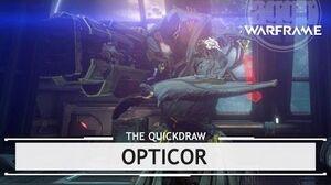 Warframe Opticor, Explosive Penetration 6 Forma Build