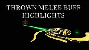 WARFRAME - Thrown Melee Buff Highlights Cerata Charged Throw and Discharge
