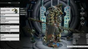 Grineer Themed Vauban With New Laddak Cloak!