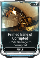 Primed Bane of Corrupted