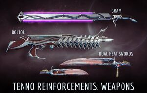 New Weapons for Update 6.2