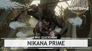Warframe Nikana Prime, Whipping Out the Big One thequickdraw