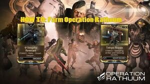 Warframe How to Operation Rathuum