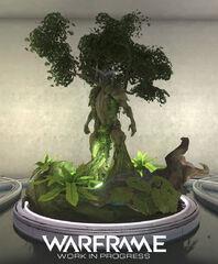 Warframe Oberon Relay Statue