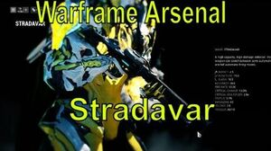 Warframe Arsenal Stradavar New Factions Mods Update 18