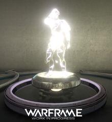 Warframe Volt Relay Statue