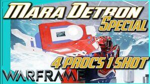 DETRON MARA SPECIAL - 4 Elemental Procs 1 Shot 4 forma - Warframe