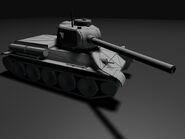 WF Render T-34-85 NoSkin