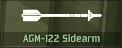 WRD Icon AGM-122 Sidearm