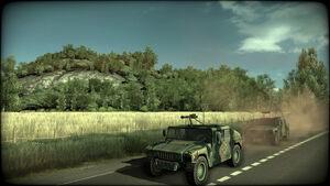 WALB Humvees