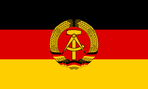 Flag East Germany