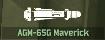 WRD Icon AGM-65G Maverick