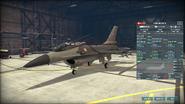 WAB F-16A Block 15 armory