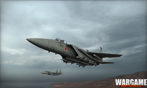 WRD Screenshot F-15 Japan