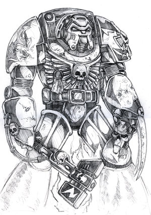 File:Warhammer 40k Terminator by old stone road.jpg