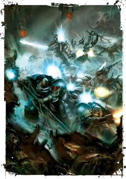 GK fighting Forces of Chaos