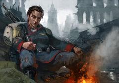 Last Survivour Mordian Iron Guard