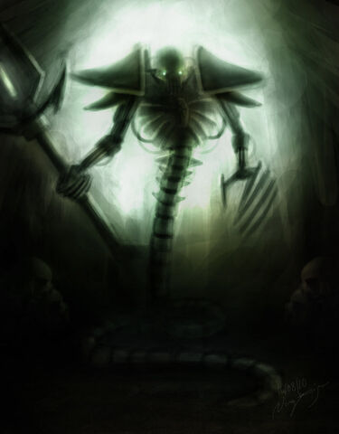 File:Necron Wraith Lord by Kriegtherion.jpg