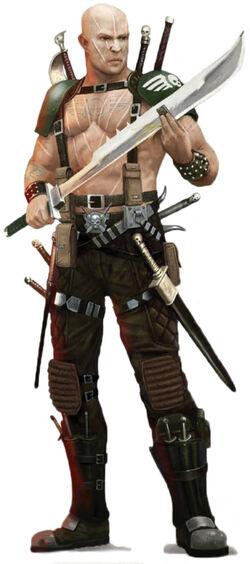 Brontonian Longknives trooper
