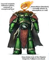 Vulkan's Artificer Armour