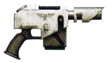 Kantrael 'Defender' Laspistol