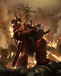 Crimson Slaughter Chaos Marine ukitakumuki
