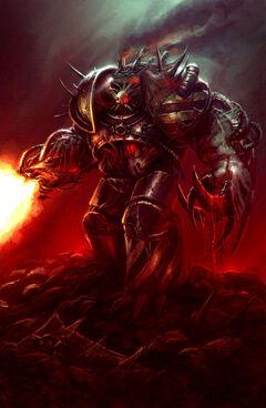 Iron warrior obliterator
