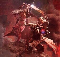 Ferrus Manus vs. Fulgrim