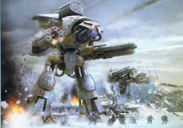 File:Imperial Titans and Space Wolves on Betalis III.png