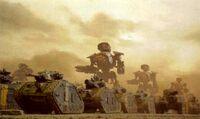 Legio Astorum Krieg Armour Column