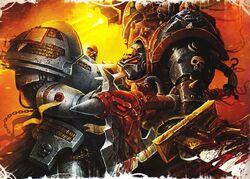 Grey Knight vs Chaos Terminator