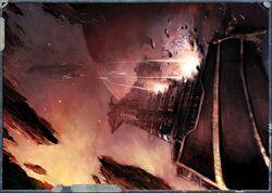 Rak'Gol vs. Imperial vessel
