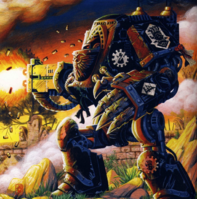 Iron Hands Heresy Comech Dreadnought