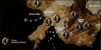Lyubov Ground Assault Map
