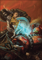 Deathwatch vs. Chaos Marine