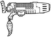 Plasma Gun MkVII 'Sunwolf' Pattern