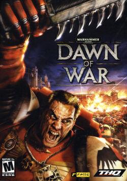 Dawn of War box art
